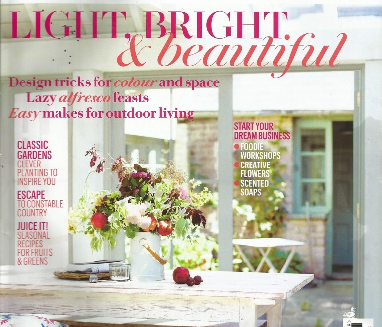 I'm Guest Editor in Cornwall Living Magazine Foodie Section This Month